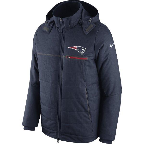 Nike 2016 Sideline Heavyweight Jacket-Navy