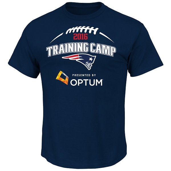 2016 Training Camp Tee-Navy