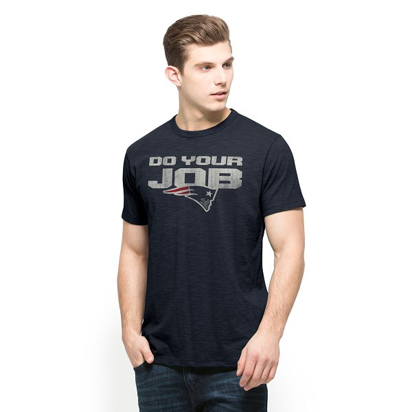 '47 Brand Do Your Job Tee-Navy