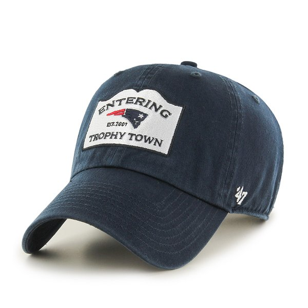 Trophy Town Clean Up Cap-Navy