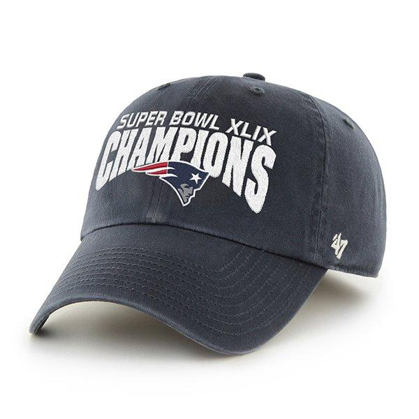 '47 Brand Super Bowl XLIX Champions Adjustable Cap-Navy
