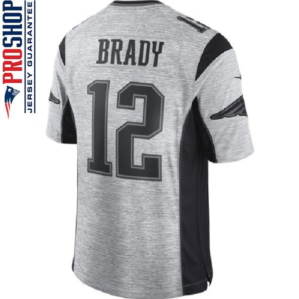Nike 2016 Tom Brady Gridiron Limited Jersey-Black