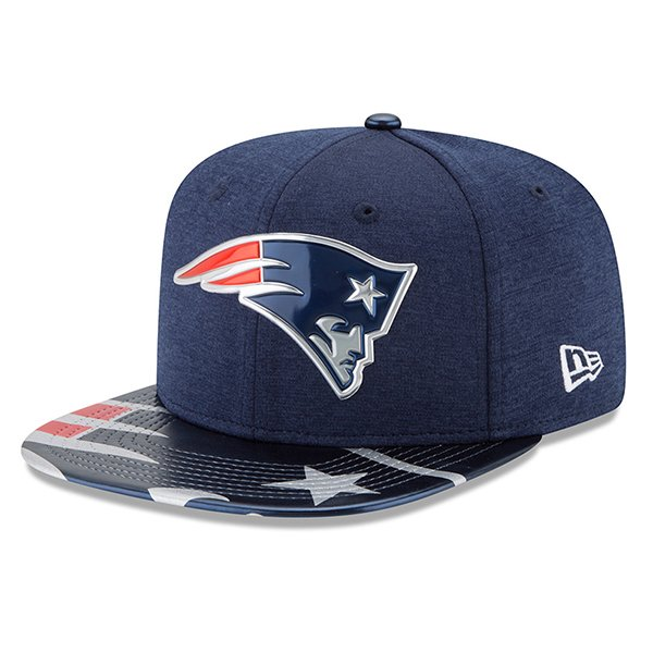 New Era 2017 Draft 9Fifty Snap Cap-Navy