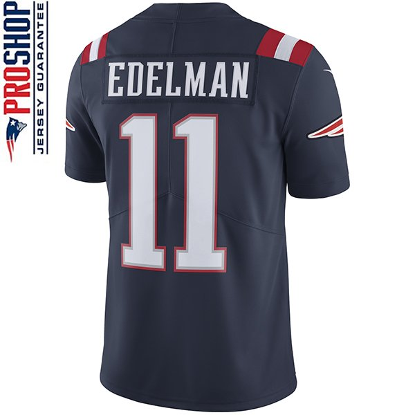 Nike Julian Edelman #11 Color Rush Limited Jersey-Navy