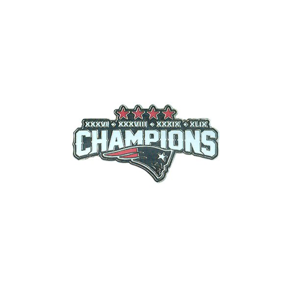 Exclusive 4 Time Super Bowl Champions Pin