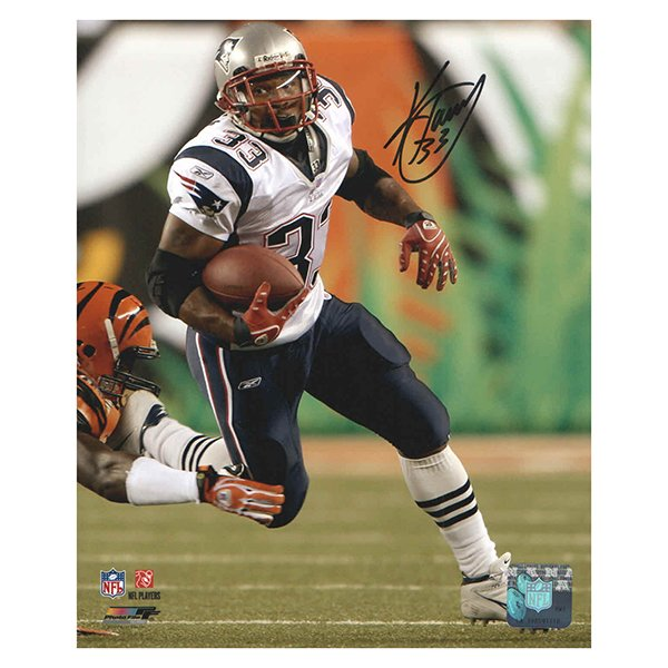 Kevin Faulk Autographed 8x10 Photo