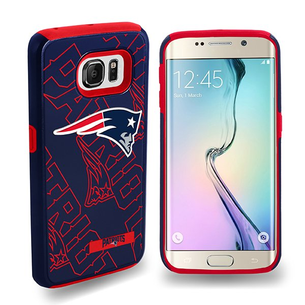 Patriots Galaxy S6 Edge Dual Hybrid Cover