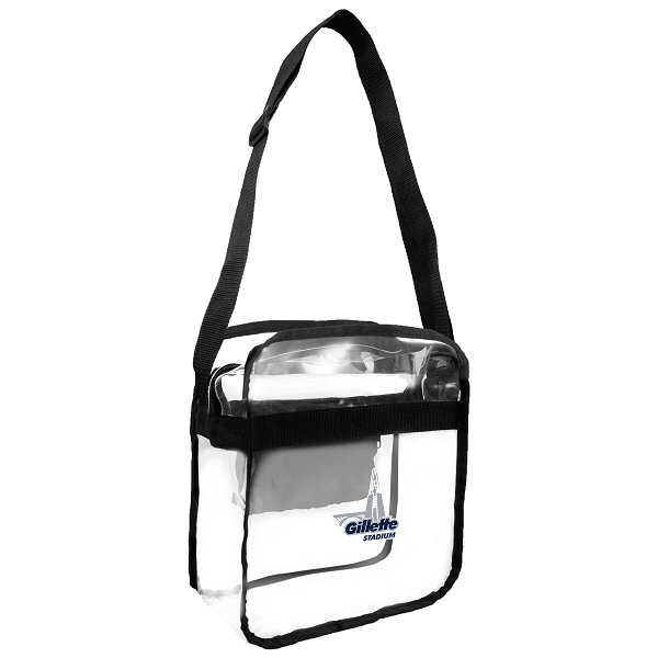 Gillette Clear Cross Body 12x12x6 Bag