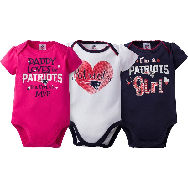 Girls Newborn 3pk Bodysuit