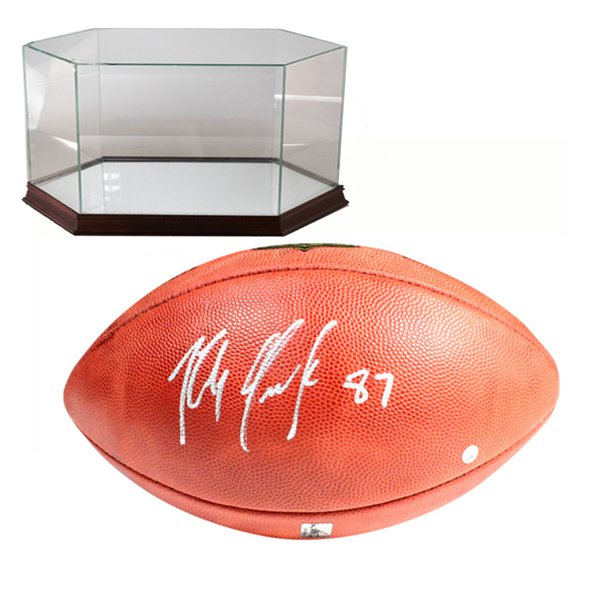 Signed Rob Gronkowski Duke Football w/Case