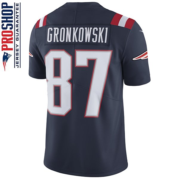Nike Rob Gronkowski #87 Color Rush Limited Jersey-Navy