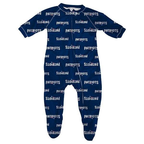 Infant All Over Print Coverall-Navy
