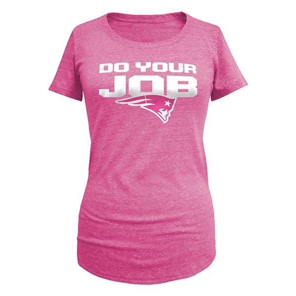 Ladies Do Your Job Tee-Pink