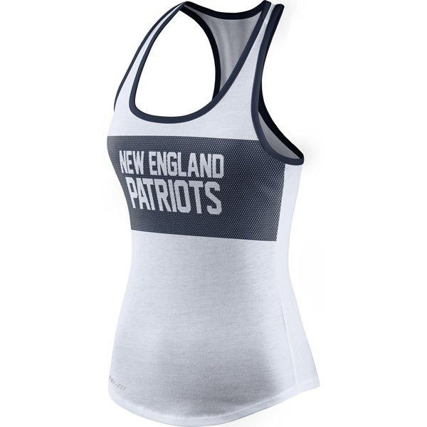 Ladies Nike Performance Tank-White