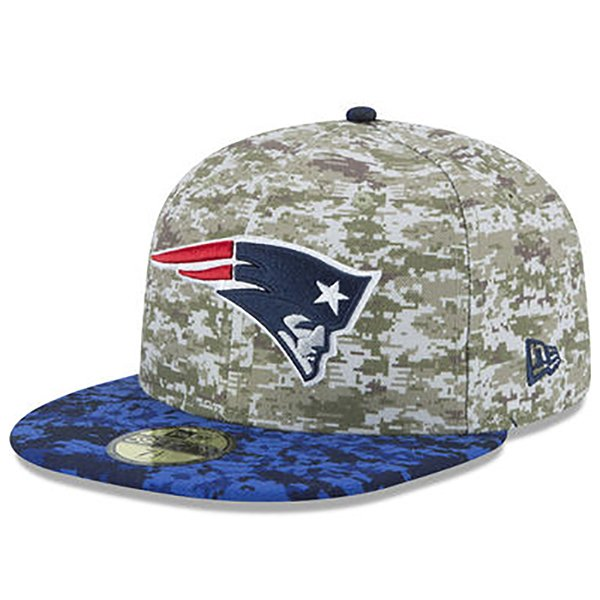 New Era 2015 Salute to Service 59Fifty Fitted Cap-navy/Camo