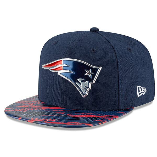 New Era Color Rush 9Fifty Snap Cap-Navy