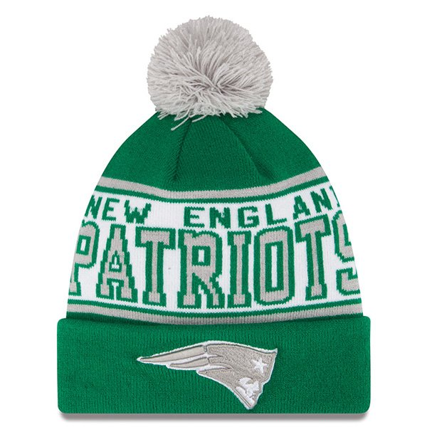 New Era St Patrick's Banded Knit-Green