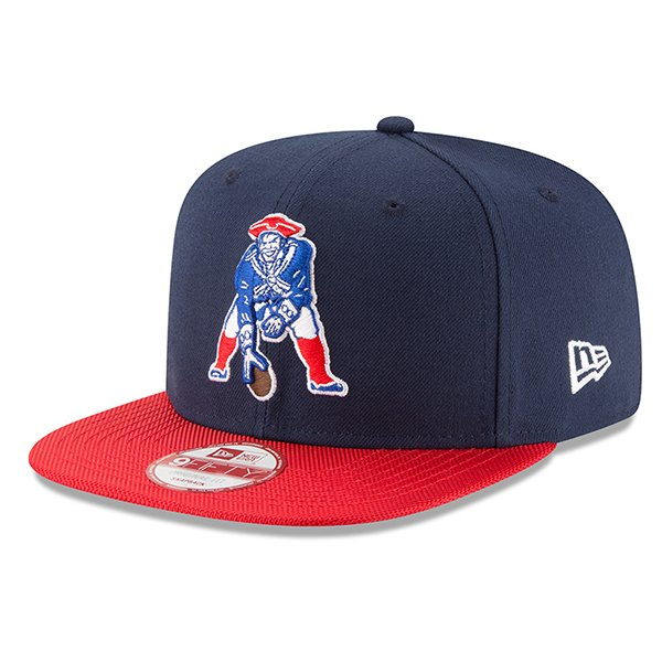 New Era 2016 Throwback 9Fifty Snap Cap-Navy