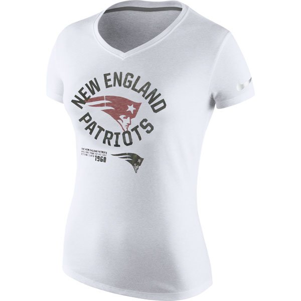 Ladies Nike Platinum Driblend Tee-White