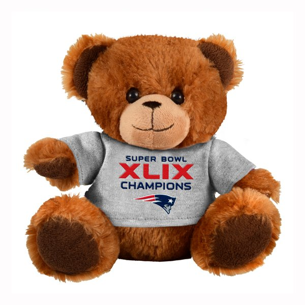 Super Bowl XLIX Champions 8 Inch Bear