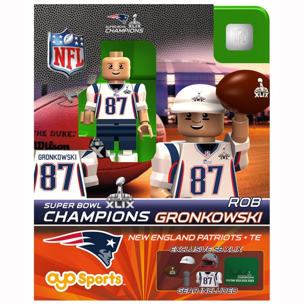Super Bowl XLIX Champion Rob Gronkowski Oyo Figure