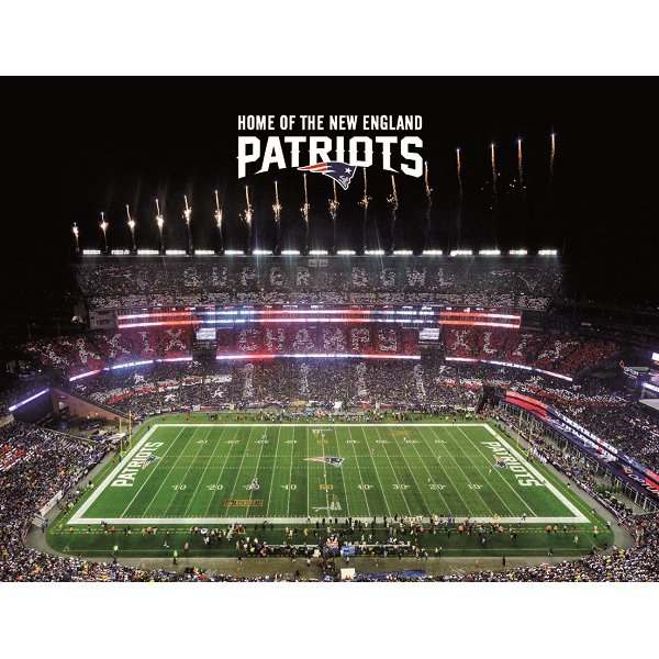 Gillette Stadium Super Bowl 49 Post Card