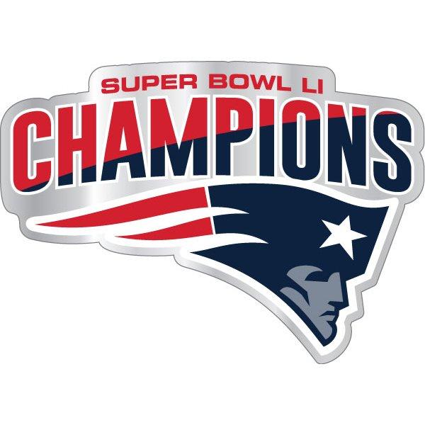 Super Bowl Champions Auto Emblem