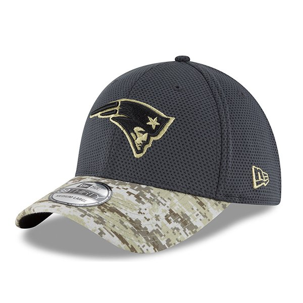 2016 Salute To Service 39Thirty Flex Cap-Charcoal/Camo