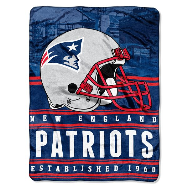 Patriots Touch Helmet Blanket