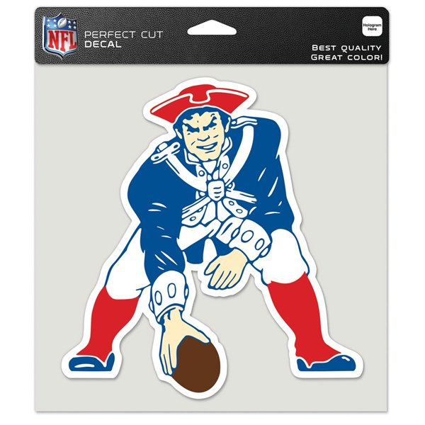 Throwback Perfect Cut 8x8 Decal